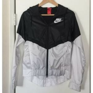 Nike Vented Track Nylon Zip Up Jacket Size XS